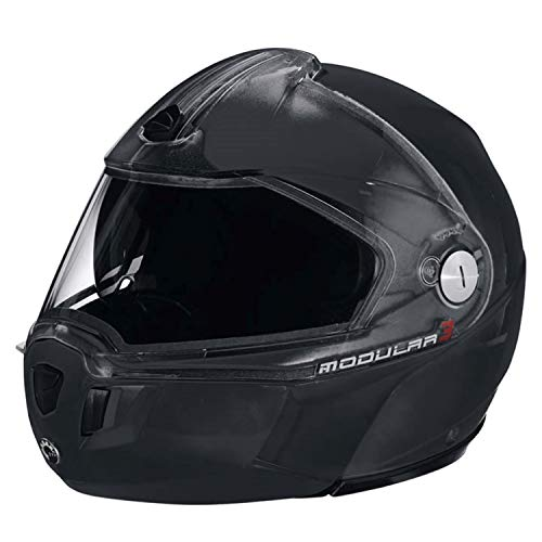 Ski-doo Modular 3 Snowmobiling Helmet-Black #4479631290 (X-large)