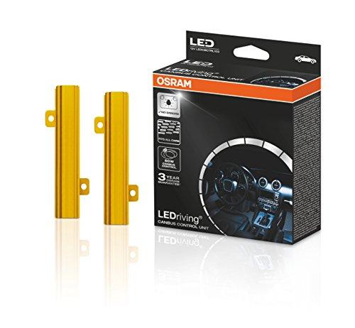 OSRAM LEDriving CANBUS CONTROL UNIT, Steuereinheit zu Verhinderung von Fehlermeldungen, 50 Watt, 12V, LEDCBCTRL103, Karton (2 Einheiten)