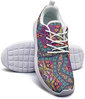 Mandala Abstract Pattern Wallpaper Girl Canvas Casual Shoes Sneakers Print Basketball Shoes