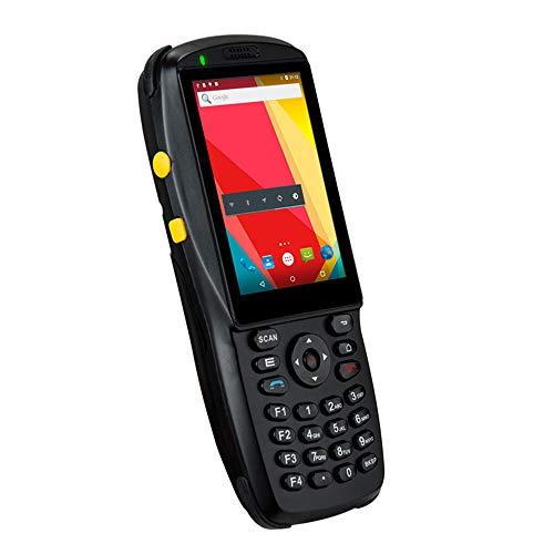 LLC-POWER Scanner de Poche de Code à Barres avec écran Tactile 3,5 Pouces, Android 5.1 OS, pavé numérique, Support 1D 2D 3G WiFi BT NFC, Terminal Mobile pour Le système d'inventaire