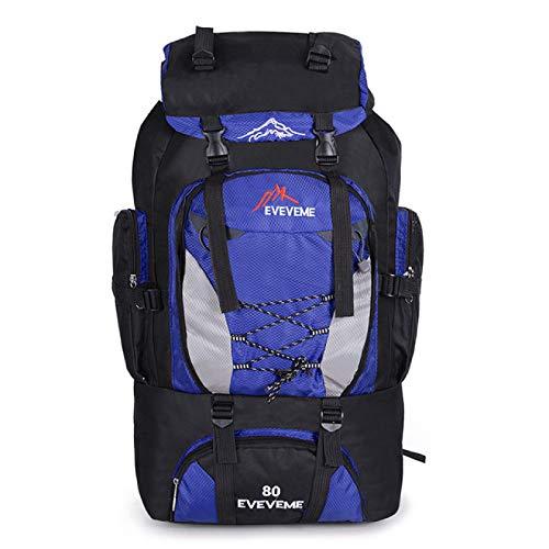 Backpacks 80L Camping Hiking Bag Outdoor Sports Bags Travel Waterproof Shoulder Men Climbing Fishing Rucksack