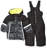 iXtreme Baby Boys' Promo Snowsuits, Black, 12M