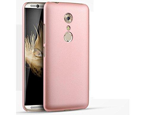 EIISSION Hülle Kompatibel mit ZTE AXON 7 Hülle, Hardcase Ultra Dünn Samsung Galaxy A8 2018 Schutzhülle aus Hart-PC Hülle Cover Handyhülle für ZTE AXON 7 (Rose Gold)
