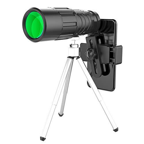 Monoculaire Telescoop, Fanville 10x40 HD Spotting Scopes Waterdichte Monoculaire Bereik Afstand Finder Voor Golf Beste Waarde Vogelspotten en Wandelen Monoculaire, C