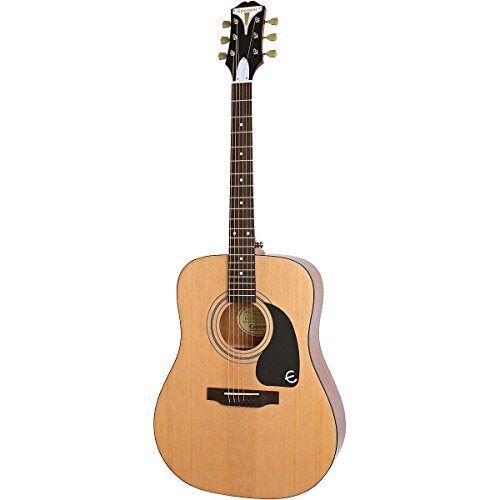 Epiphone Pro-1 'Classic' Nylon String Acoustic Classical Guitar System for Beginners, Natural Finish
