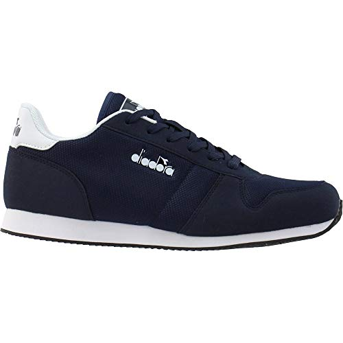 Diadora Mens Snap Run Lace Up Sneakers Shoes Casual - Blue - Size 10.5 D