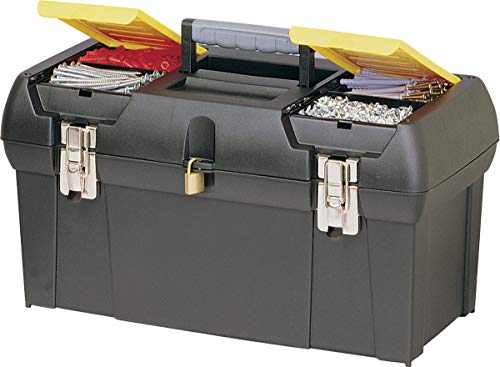 STANLEY Caixa Plástica de Ferramentas com Bandeja Serie e Fechos Metálicos 19 1/4 Pol. 19-013