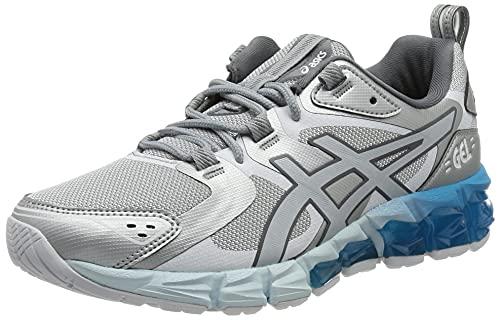 Asics Gel-Quantum 180, Sneaker Mujer, Piedmont Grey/Aizuri Blue, 42.5 EU