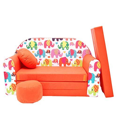 millybo Kindersofa Couch Kindercouch Spielsofa 3in1 Kinder Sofa Minisofa (MI-F9)