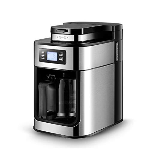 Koffiezetapparaat Filter Koffiezetapparaat met molen met timer en warmhoudfuncties