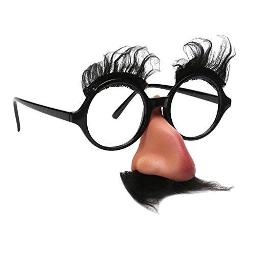 『Harilla ハロウィンメガネ眉毛ひげ鼻パーティーコスプレスペック小道具』の1枚目の画像