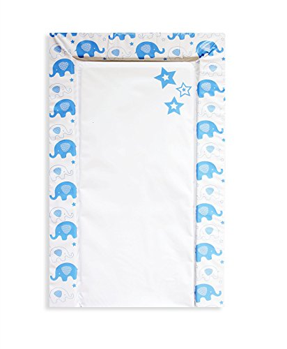 First Steps Baby Soft & Comfortable Elephant Padded Changing Mat -Blue