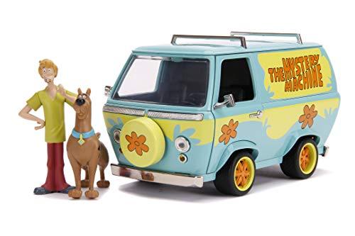 JADA TOYS - Scooby-Doo Mystery Machine in scala 1:24 die-cast con personaggi di Scooby e Shaggy, + 8 anni, 253255024