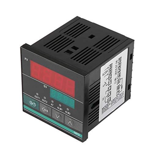 Controlador de termostato, termostato de incubadora, ajustable de uso múltiple con función de alarma para energía eléctrica de fermentador de refrigerador