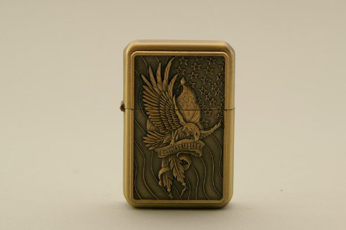 FEUERZEUG STURMFEUERZEUG BENZINFEUERZEUG American Legend American Bald Eagle Stars & Stripes