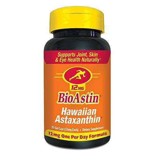 BioAstin Hawaiianisches Astaxanthin, 60Kapseln zu je 4mg, für die natürliche Stärkung von Gelenken, Haut und Augen, Super-Antioxidans aus Hawaii