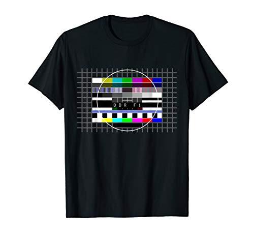 DDR Testbild Osten 80er Jahre 90er Party Outfit Ost Kostüm T-Shirt