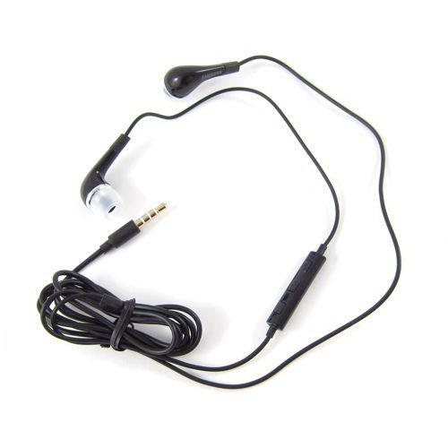 Original Samsung Galaxy Xcover S5690 Headset EHS64AVFBE schwarz Kopfhörer Ohrhörer mit Volume Kontroller + An und Aus Knopf (Frustation free Packaging)
