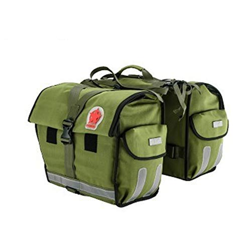 New Bike Pannier Trunk Bag, Large Capacity Waterproof Bicycle Rear Seat Pannier Fit for Cycling Trip...