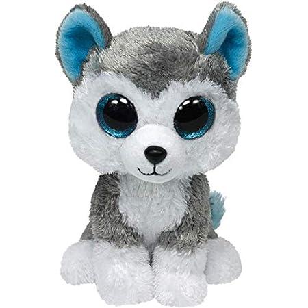 Ty 36006 Beanie Boos Slush - Peluche de perro Husky [Importado de Alemania]