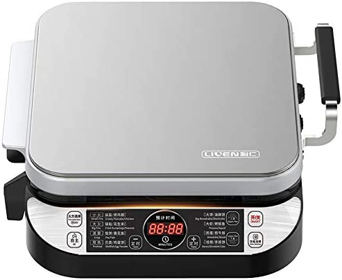 LIVEN Electric Baking Pan Stainless Steel Deluxe product image