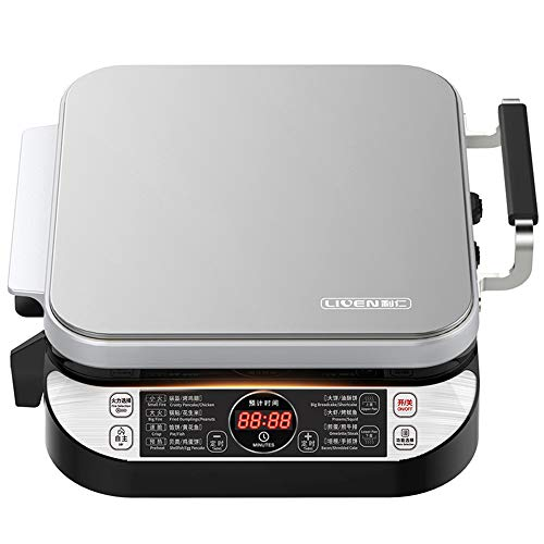 LIVEN Electric Baking Pan LR-FD431 Skillet Griddle, US DuPont Non-Stick Coating,Detachable Upper and Lower Grill Pan, Easy to Clean