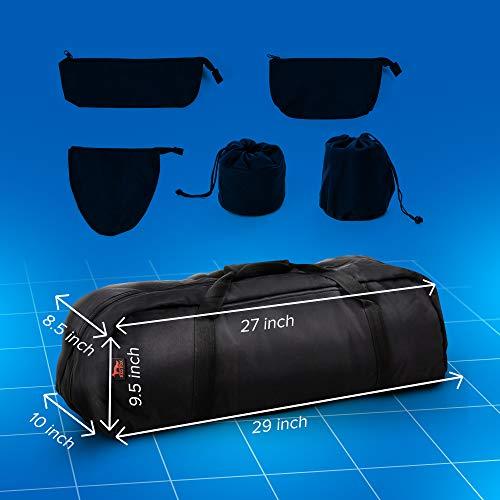Telescope Bag - 29x10X9.5 inch Telescope case - 127EQ PowerSeeker