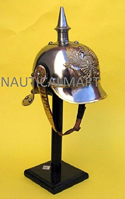 NauticalMart Medieval German Pickle Haube Helmet