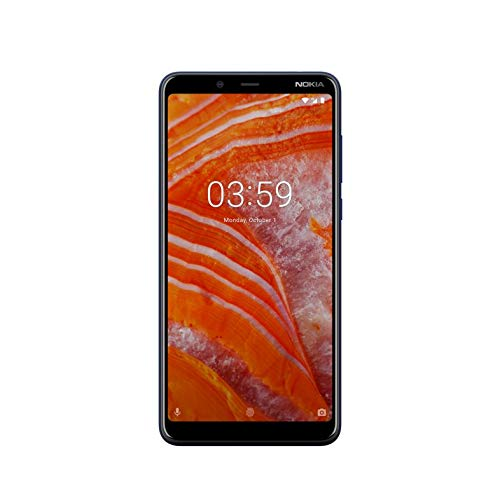 "Nokia 3.1 Plus 15,2 cm (6"") 3 GB 32 GB SIM Doble 4G Azul 3500 mAh - Smartphone (15,2 cm (6""), 3 GB, 32 GB, 13 MP, Android 8.1, Azul)"