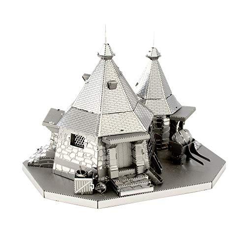 Professor PUZZLE Harry Potter Kit de Modelo de cabaña de Metal Earth Hagrid, Color,...