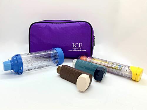 ICE Medical Inhaler Bag - Medium (Purple)