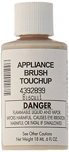 Whirlpool 4392899 Biscuit Acrylic Touch Up Paint Bottle, Biscuit
