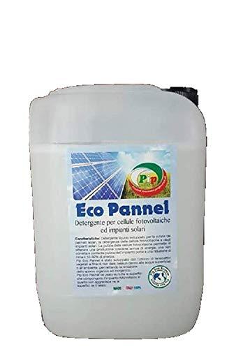 Pip Eco Pannel TK UN KG.4,7 = LT.4,7 Pari a 940 Litri di prodotto pronto all'uso.Detergente Ecologico Super Concentrato per la pulizia dei Pannelli solari o fotovoltaici.