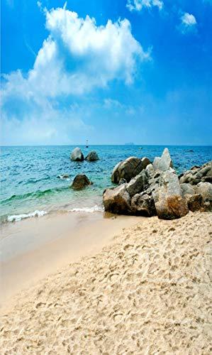 Sfondo di foto Paesaggio marino Sfondi fotografici personalizzati Fotografia Prop Vinile Photo Studio Sfondo Per La Decorazione Lo sfondo Banner sullo sfondo personalizzato Carta di sfondo