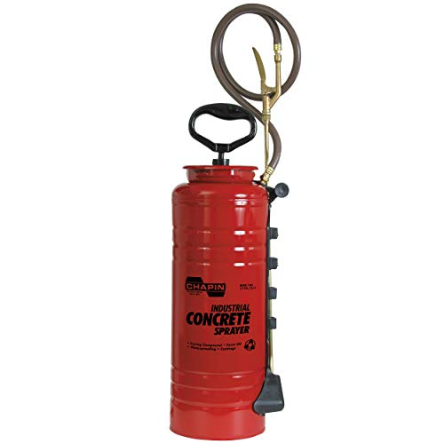Chapin 1949 Industrial Viton Open Head Sprayer for Professional Concrete, 4, Red