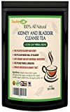 Kidney Cleanse Detox Tea| Kidney Support Supplement with Parsley, Juniper Berries, Cleavers herb for Urinary Tract and Bladder Health - Organic Natural Herbal Flush Formula |USDA | Made in USA