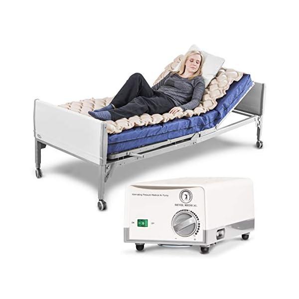 Premium Alternating Air Pressure Mattress Pad for Medical Bed – Pressure Sore...