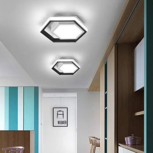 SYyshyin Modernas Simples Techo Vestuarios Lámpara LED Luces De Pasillo Recibidor Pasillo Luces del Balcón Sin Escalonamientos Hogar De La Lámpara De Atenuación De La Lámpara 25 * 25 * 5cm