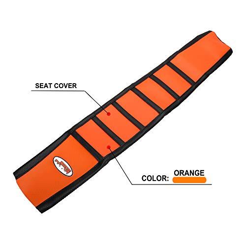 JFGRACING Orange / Schwarz Greifer Weiche Sitzbezug Für 125 144 150 250 350 450 SX SXF XC XCF XCW 2016