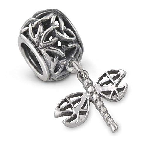 Abalorio de plata de ley 925 inspirado en Outlander, diseño