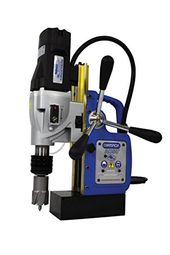 "Champion Cutting Tool RotoBrute MightiBrute AC50 Portable Magnetic Drill Press: Up to 2-1/8"" diameter, 2"" depth of cut"