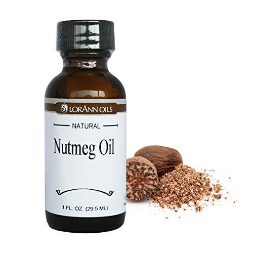 LorAnn Nutmeg Super StrengthNatural Flavor, 1 ounce botttle