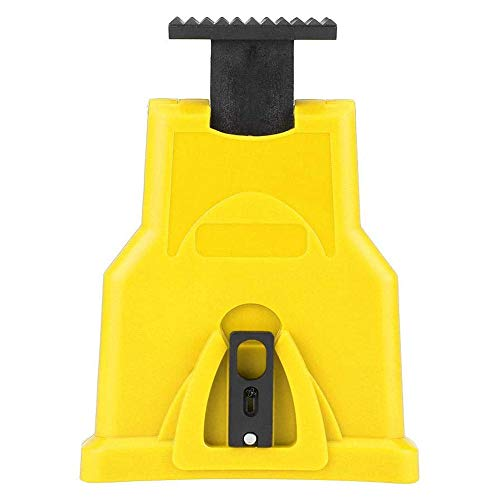 Portable Electric Chainsaw Teeth Sharpener Chain Sharpening Tool Simple Fast Grinding Tools For Woodworking (Yellow)