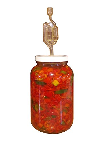 The Picklemeister Glass Fermentation Jar (Picklemeister 1 Gallon)