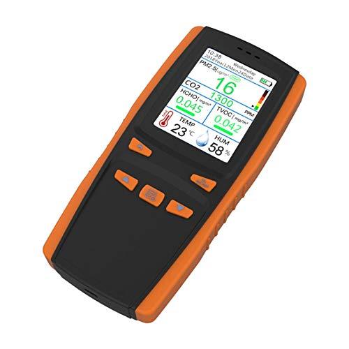 Co2 Detektor Co2 Meter Gasanalysator Tragbare Werkzeugkiste Formaldehyd Analysator Haushalt Innenwagen Luft PräZisionstester Verschmutzungserkennung