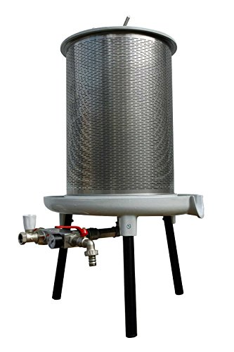 Original Fischer-Lahr Wasserdruckpresse HPA, Hydropresse / Obstpresse (20 Liter Korbvolumen)
