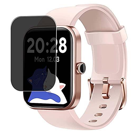 Vaxson Protector de Pantalla de Privacidad, compatible con CUBOT 206 ID206 1.69' Smart Watch smartwatch [No Vidrio Templado Carcasa Case ] TPU Película Protectora
