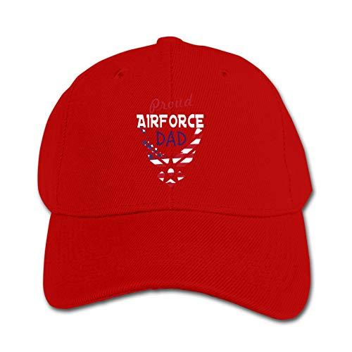 Proud Airforce Dad Mug Unisex Kinder Mütze Sonnenhut Hip Hop Kappe Verstellbare Sportkappe Teen Hut Kinder Entenschnabel Kappe