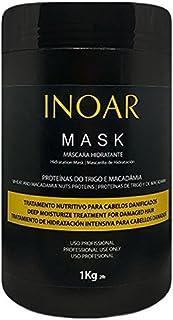 INOAR Brazilian Hair Mask Protein and Macadamia 1 Kilo