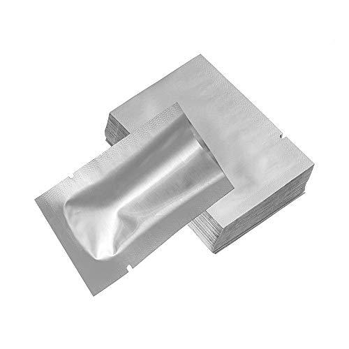 MaHaiShand Suministros de Cocina Saran Wrap Bolsas de Papel de Aluminio Bolsa de Sello de Calor Sellador al vacio Bolsas de Almacenamiento(100pcs 5x7cm)